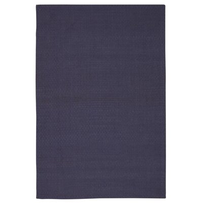Hurst Hand-Woven Purple Area Rug Rug Size: Rectangle 76 x 96