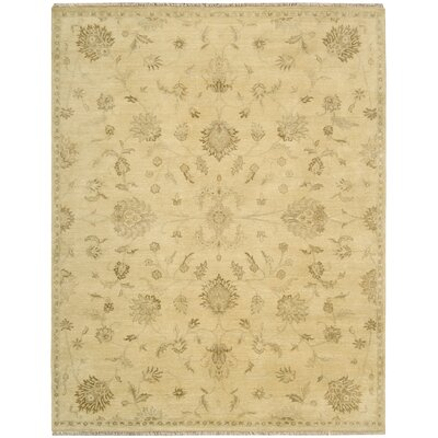 Siriano Beige Area Rug Rug Size: Rectangle 79 x 99