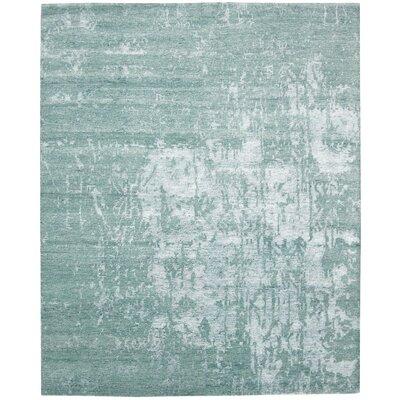 Silk Shadows Hand-Knotted Marina Area Rug Rug Size: 99 x 139