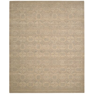 Silken Allure Beige Area Rug Rug Size: 79 x 99