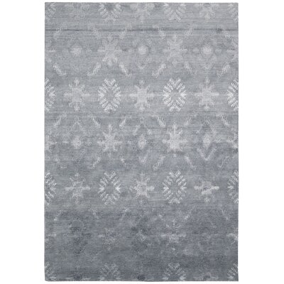 Silk Shadows Blue Area Rug Rug Size: 86 x 116