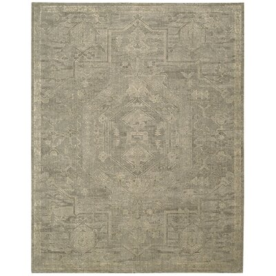 Dickinson Industrial Taupe Area Rug Rug Size: Rectangle 56 x 8