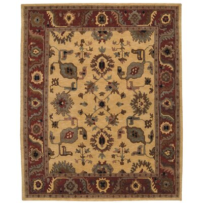 Bowen Hand-Knotted Gold Area Rug