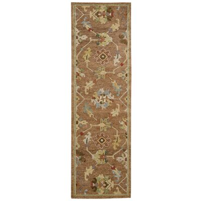 Tahoe Hand-Knotted Penny Area Rug Rug Size: Runner 23 x 8