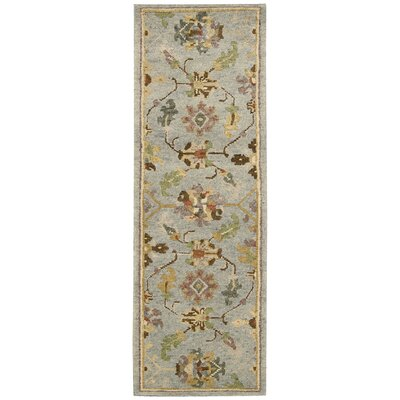 Tahoe Hand-Knotted Seaglass Area Rug Rug Size: Runner 23 x 8