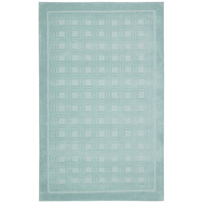 Aspasia Aqua Area Rug Rug Size: Rectangle 36 x 56