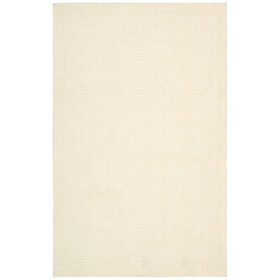 Aspasia Ivory Area Rug Rug Size: Rectangle 36 x 56