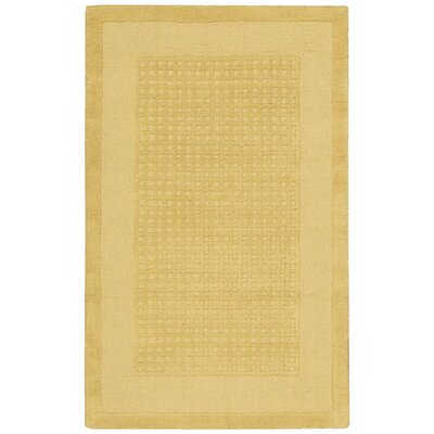 Aspasia Yellow Area Rug Rug Size: Rectangle 26 x 4