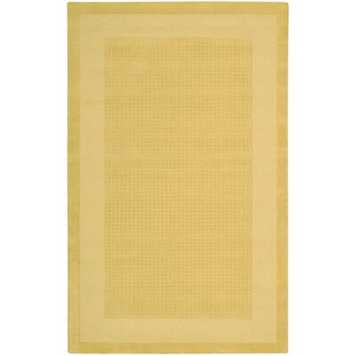 Westport Yellow Area Rug Rug Size: 5 x 8