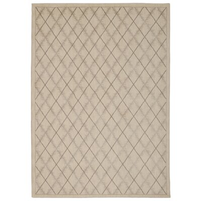Galsworthy Ivory Area Rug Rug Size: Rectangle 53 x 75