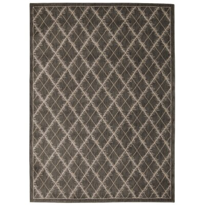 Galsworthy Latte Area Rug Rug Size: Rectangle 53 x 75