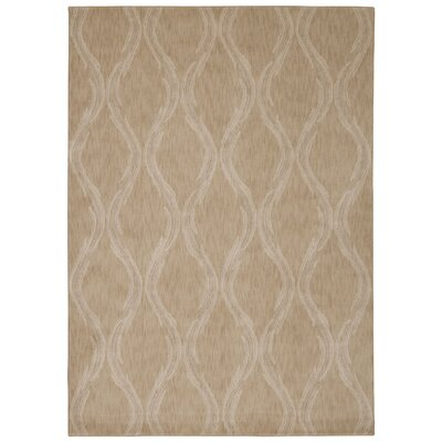 Galsworthy Beige Area Rug Rug Size: Rectangle 39 x 59