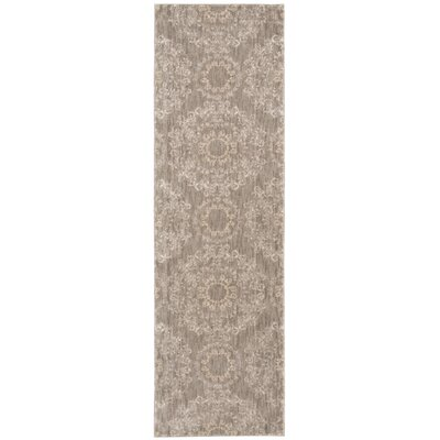 Fonzo Stone Area Rug Rug Size: Runner 22 x 76