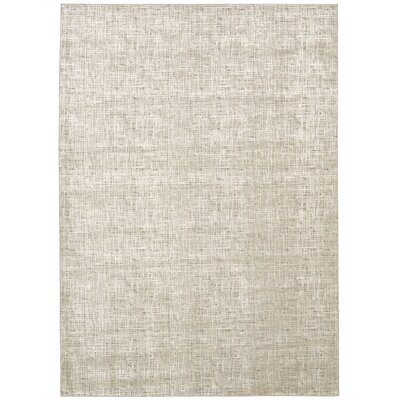 Vito Solid Gray Area Rug Rug Size: Rectangle 93 x 129
