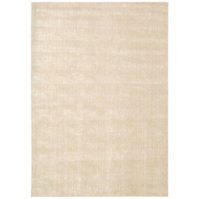 Trace Beige Area Rug Rug Size: Rectangle 93 x 129