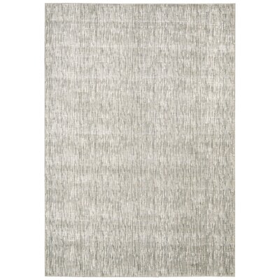 Coby Gray Wool Area Rug Rug Size: Rectangle 53 x 75
