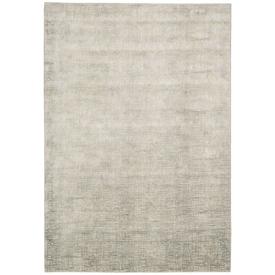 Kennith Gray Area Rug Rug Size: Rectangle 35 x 55