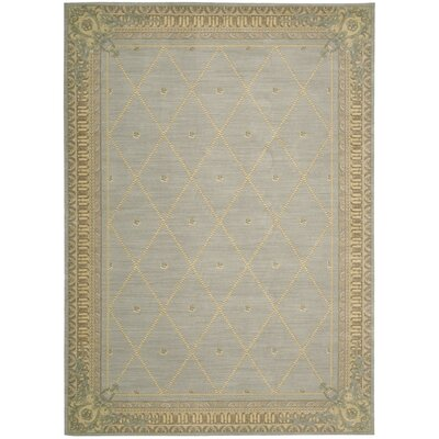 Ashton House Surf Area Rug Rug Size: 56 x 75