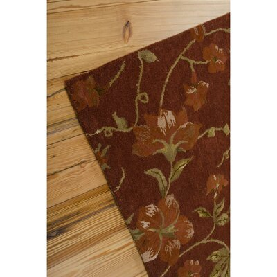 Kaylee Handmade Brick Area Rug Rug Size: Rectangle 8 x 11