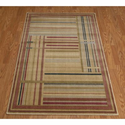 Cheryton Beige/Brown Area Rug