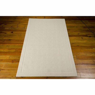 Aspasia Ivory Area Rug Rug Size: Rectangle 26 x 4