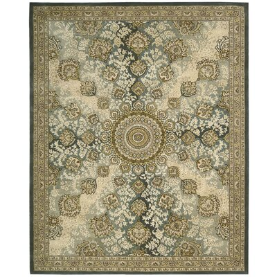 Polson Hand Woven Wool Blue Indoor Area Rug Rug Size: Rectangle 79 x 99