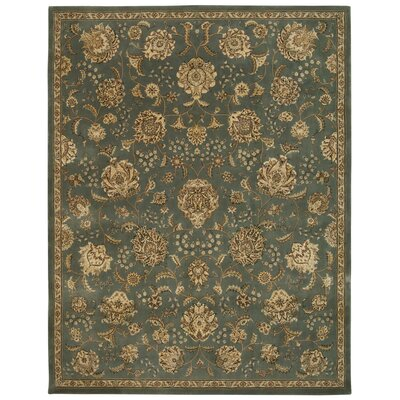 Greenwood Hand Woven Wool Mist Indoor Area Rug