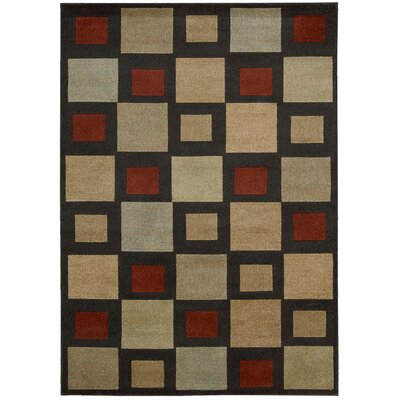 Vogue Black Area Rug
