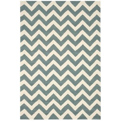 Oaknoll Light Green Indoor/Outdoor Area Rug Rug Size: Rectangle 8 x 106
