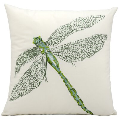 Dragonfly Outdoor Throw Pillow