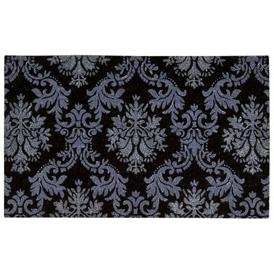Chatelain Damask Coir Doormat Rug Size: 18 x 3