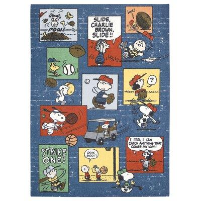 Peanuts Sports Doormat Mat Size: 22 x 39