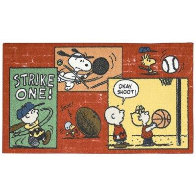 Peanuts Sports Doormat