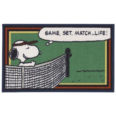 Peanuts Tennis Doormat