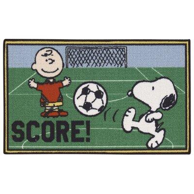 Peanuts Soccer Doormat