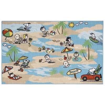 Peanuts Beach Doormat