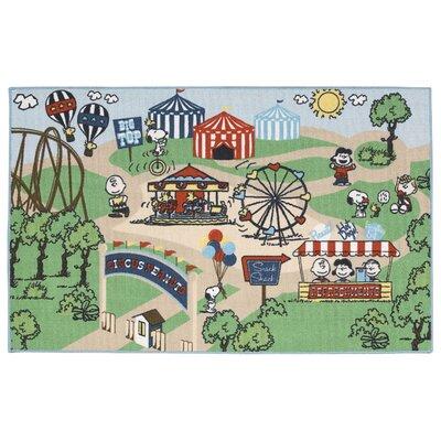 Peanuts Circus Doormat