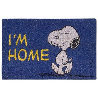 Peanuts Im Home Doormat