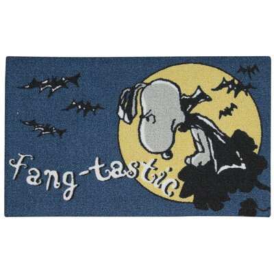 Peanuts Fangtatic Doormat