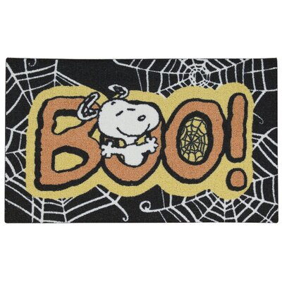 Peanuts Boo Doormat