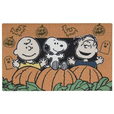 Peanuts Happy Doormat