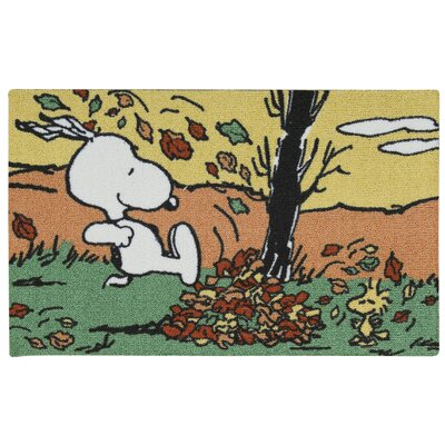 Peanuts Jumping Doormat