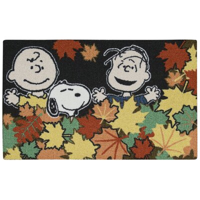 Peanuts Leaves Doormat