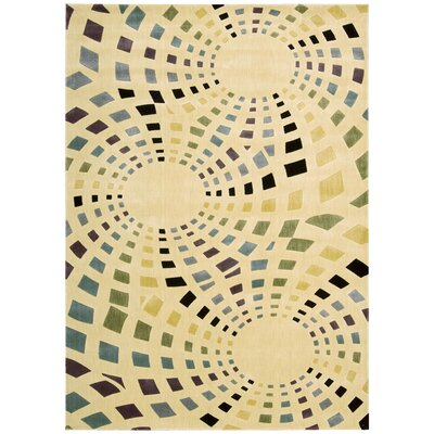 Parallels Area Rug Rug Size: 79 x 1010
