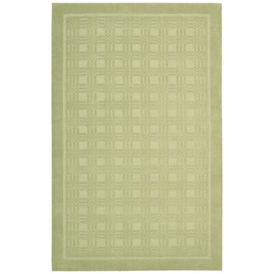 Aspasia Geometric Lime Area Rug Rug Size: Rectangle 36 x 56