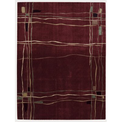 Pinellas Red Area Rug Rug Size: Rectangle 36 x 56