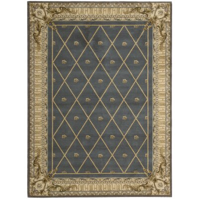 Ashton House Blue Area Rug