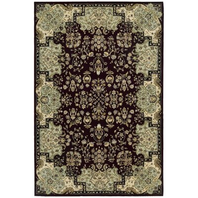 Hand Woven Wool Plum Indoor Area Rug