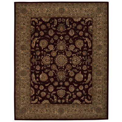 Hand Woven Wool Ruby Indoor Area Rug