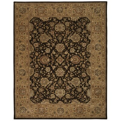 Pittstown Hand Woven Wool Chocolate Indoor Area Rug